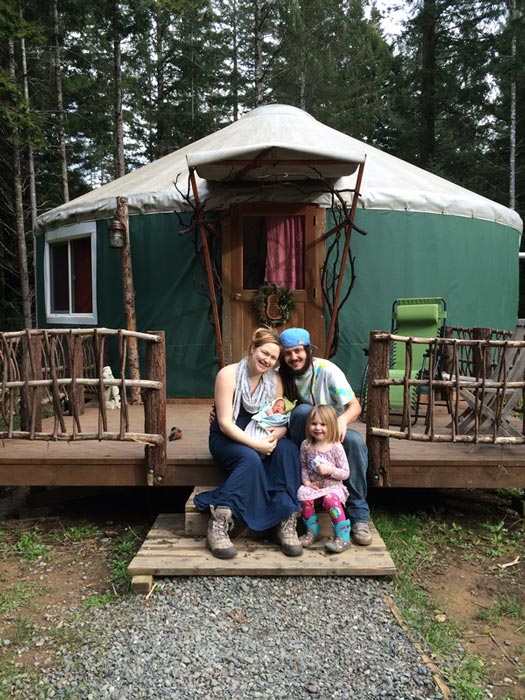 Birth Yurt Family